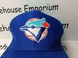 Toronto Blue Jays Vintage Snapback Mesh Hat Cap U I I Universal Trucker 1726792626