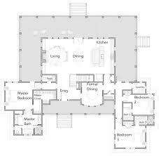 open concept contemporary farmhouse floor plans