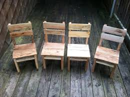 rustic pallet furniture. diy rustic pallet table and chairs furniture 2