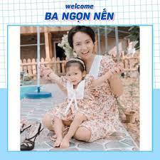 Váy Đôi Mẹ và Bé FREESHIP Set đồ mẹ bé Hàng Thiết Kế Cao Cấp cho trẻ từ 1 -  8 Tuổi tốt giá rẻ