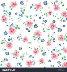 Floral Pattern Wallpaper Simple Decorating Design