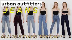 Urban Outfitters Jeans Guide Try On Of Every Style Bdg Jeans 2018 2019