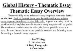 global history thematic essay review site term paper essay  thematic essay review teachers guide new visions social