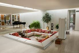 Living Room Furniture Indianapolis Miller House Built In 1957 For J Irwin Miller This Mid Century