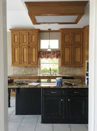 Before And After A Dated Wood Kitchen Goes All White And Bright