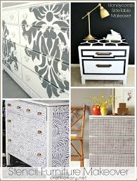 stenciling furniture ideas. Best Stencil Furniture Makeovers Stenciling Ideas A