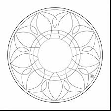 Small Picture surprising simple mandala coloring pages with easy coloring pages