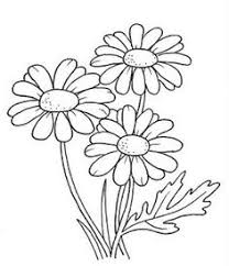 Small Picture DRAWINGS TO PAINT Flowers Digital stamps Pinterest Painted
