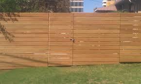 Horizontal Privacy Cedar Fence Plans Diy Farmhouse Design and