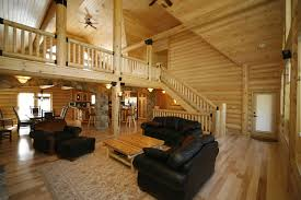 Pics Of Log Home Interiors Home Decorating - Log home pictures interior