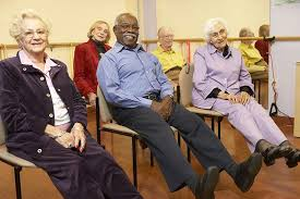 Image result for seniors exercising