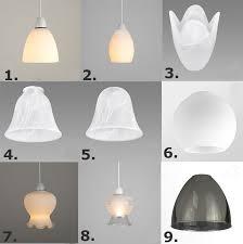 glass chandelier lamp shades light 4