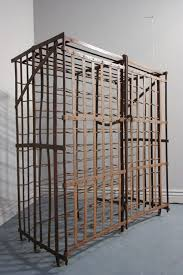 Antique Wrought Iron Wine Cage/Rack.