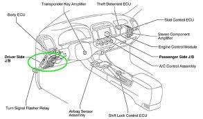 toyota avalon fuse box wiring diagrams