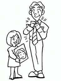Small Picture Necktie Dad Coloring Pages Coloring Book
