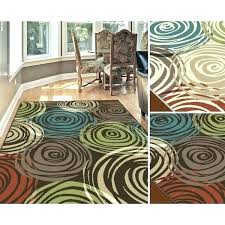 green and brown area rugs red rug