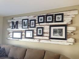 rustic wall decor for family room