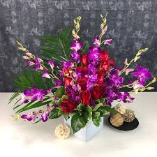 orchids and roses to woo by tognoli gifts