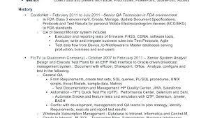 Tester Resumes Qa Tester Resume Sample For Engineer Or Software Testing Samples 2