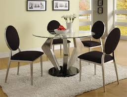modern round dining room table pleasing decoration ideas modern glass dining room table ideas for popular