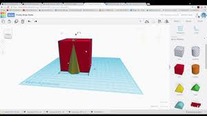 How To Create Dual Print Shapes Using Tinkercad Youtube Color Print Digital L