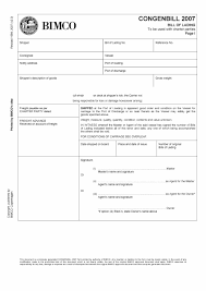 Universal Bill Of Lading 40 Free Bill Of Lading Forms Templates Template Lab