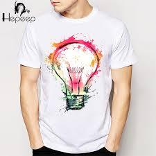 T Shirt Design Ideas Track Shipnew Rock Punk Men T Shirt Top Tee Splash Ideas Novelty Fashion White T