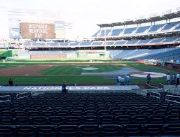 Nationals Park Concert Seating Chart Nationals Park Section 117 Seat Views Seatgeek