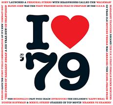 1979 Chart Hits 1979 Birthday Gift 1979 I Heart Greeting Card And 1979 Chart Hits Cd