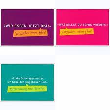 Postkarten Set Sprüche Humor Wir Essen Jetzt Opa