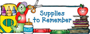 Image result for school supplies images clip art