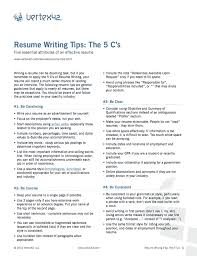 Resume Tips | Adcom-Systems.com