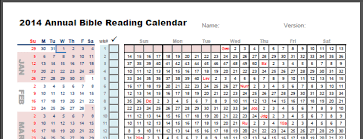Read Bible In A Year Chart Printable Chart Annual Bible Reading Charts East Is East