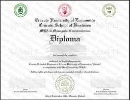 Fake Diploma Template Free All Fake Diploma Samples In Poland Phonydiploma Com