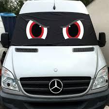 Crafter Mercedes Sprinter Fenster Displayschutzfolie Blackout Blind