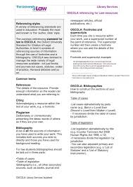 Oscola Library Services Factsheet V2 By Ulawlibraries Issuu