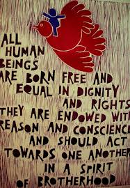 human rights esl resources adoption and proclamation on 10 1948 of the universal declaration of human rights udhr the first global enunciation of human rights