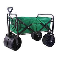 folding garden cart. W Steel Folding Wagon Garden Cart