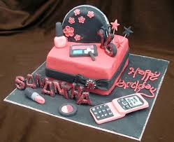 Beautiful Birthday Cakes With Favorable Accent