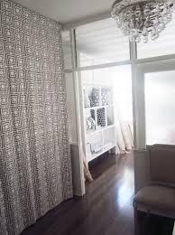 room divider curtain track diy intended for soft pink fl embossed polyester bed plan 11