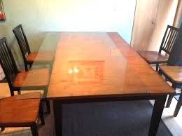 dining table top protector table top protector pads glass top cover for wood dining table awesome