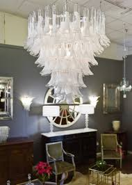 murano due lighting living room dinning. Murano Chandelier Living Room Crystal And Opaline Glass By Mazzega For Sale At Design Due Lighting Dinning