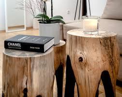 wood stump furniture. Reclaimed Wood Coffee Table, Tree Stump Wooden Furniture, Rustic Furniture
