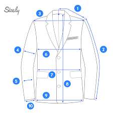 How To Measure A Blazer Jacket Sizely Medium