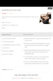 card recipe tasty recipes a powerful recipe plugin for wordpress blogs
