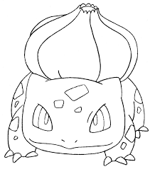 Small Picture Bulbasaur Coloring Page Coloring Pages Online