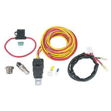 thermoswitch relay and wiring harness kit spal thermoswitch relay and wiring harness kit