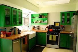 Really Small Kitchen Green Kitchen Design Green Kitchen Design And Design Kitchen