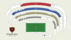Chicago Bears Seating Chart Virtual Executive Suites Chicago Bears Official Website