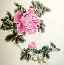 chinese peony painting 66cm x 66cm 2389015 x